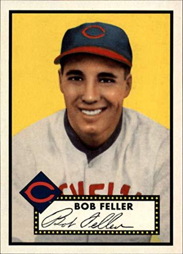 2019 MLB Topps Baseball Iconic Card Reprints #ICR-59 Bob Feller Cleveland Indians 1952 Topps Bob Feller Mlb Baseball