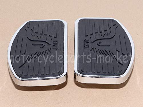 (Frames & Fittings Motorcycle Passenger FootPeg Floorboards Footboard for Suzuki Volusia VL400 VL800 Boulevard C50 for Honda VTX1300 VTX1800)
