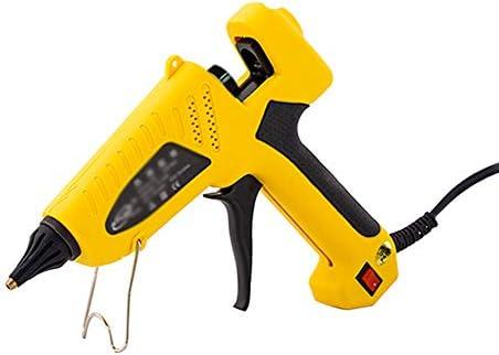 ホットメルトグルーガン、一定温度60Wグルーガングルーガンの切り替え、該当する直径11mmのり棒、黄