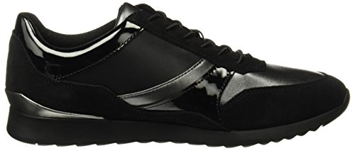 Grey Black E Deynna Sneakers Femme Basses D Geox Dk Noir BpxS8q7Aw