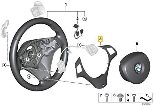 V/éritable enjoliveur de volant de sport 7845940 pour E90 E92 E93 M3 M