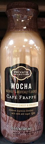 Private Selection Mocha Cafe Frappe 13.7 oz Bottles (Pack of 6)