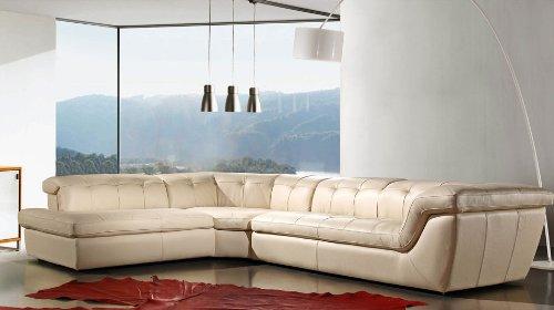 Amazon.com: J & M Muebles Seccional sofá, con reposacabezas ...