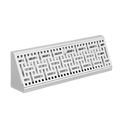 (Accord ABBBWHB15 Baseboard Register with Wicker Design, 15-Inch(Duct Opening Measurement), White)