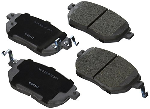 ACDelco 14D969CH Advantage Ceramic Front Disc Brake Pad Set ()