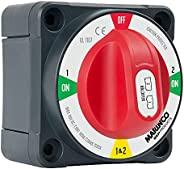 Marinco Power Products Pro Installer Selector with Field Disconnect Battery Switch