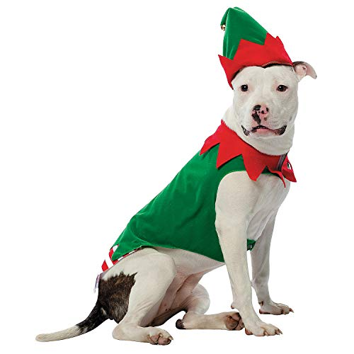 Fun Express – Pet Costume Elf XL for Christmas – Apparel Accessories – Costumes – Misc Costumes – Christmas – 1 Piece…