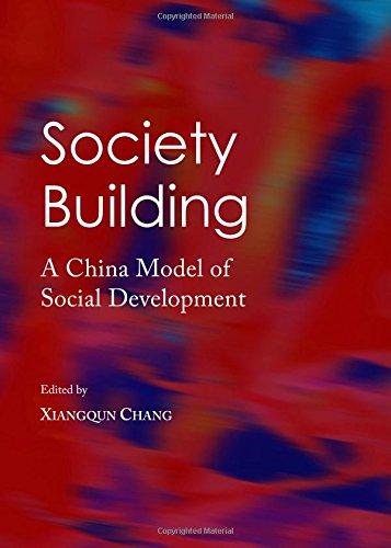 Download Society Building: A China Model of Social Development pdf epub