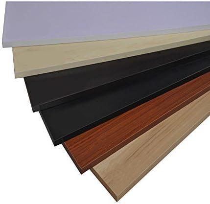 24x11 Under-desk Comfort Keyboard Plates-formes de tiroir meubles Bureau clavier /à tiroirs Slide Mode Computer Table Rail Rack White Maple