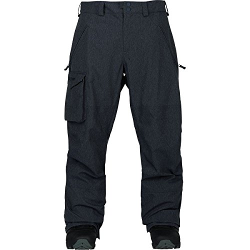 Burton Men's Insulated Covert Pant, Denim, Large Burton Snow Pants