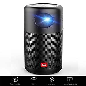 XZGG Proyectores 4k Smart TV Mini Proyector WiFi Bluetooth HD ...