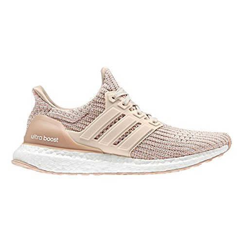 adidas Originals Women's Ultraboost, ash Pearl/Linen/Clear Orange, 6.5 M US