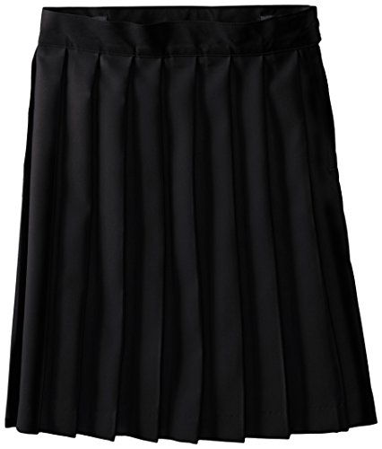 French Toast Big Girls' Pleated Skirt, Black, 10 by French Toast