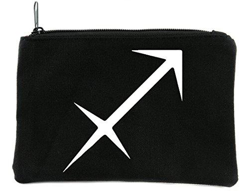 Zodiac Sagittarius Sign Cosmetic Makeup Bag Astrology Horoscope The Archer