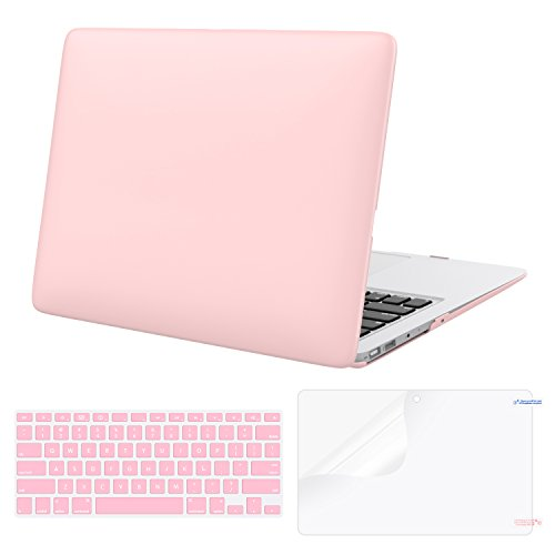 MoKo MacBook Air 13 Inch Case (2010-2017 Released Version), Matte Frosted Hard Shell Case with Keyboard Cover & Screen Protector for Apple MacBook Air 13.3