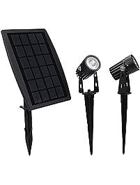 findyouled solar spotlight waterproof outdoor solar lights landscape lighting wall light auto on off - Solar Yard Lights