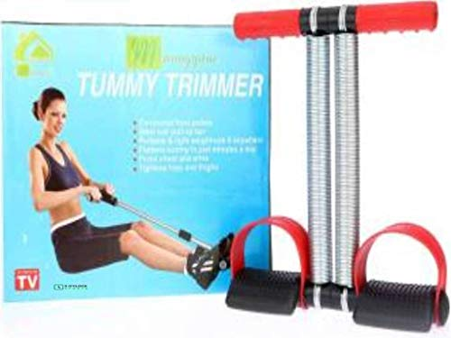 5 O #39;Clock Sports Tummy Trimmer with Double Rod Ab Exerciser  Multicolor