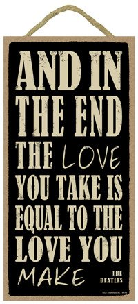 SJT ENTERPRISES, INC. and in The end The Love You take is Equal to The Love You Make - The Beatles 5