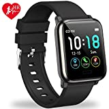 L8star Fitness Tracker HR, Activity Tracker with 1.3inch IPS Color...