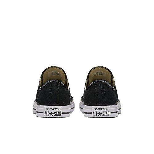 Converse All Star Ox Fashion tela, nero (Black), 40 EU F