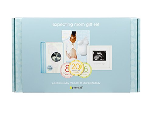 Pearhead Expecting Mom Gift Set - A Perfect Baby Shower Gift Idea for Expectant Mothers
