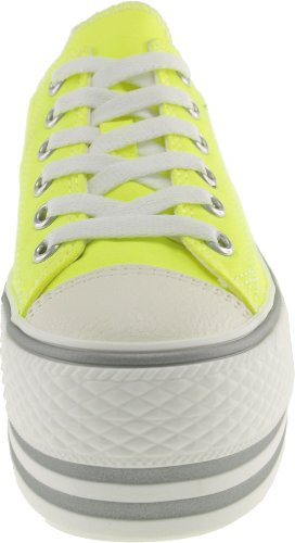 Fluorescent 5 Low Canvas Shoes Hot Maxstar Sneakers top Color Pink Womens Platform 7 US PpwwqxST