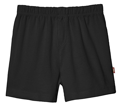 City Threads Boys Boxer Shorts Underwear Briefs in All Soft Cotton Sensitive Skin and SPD for Active Kids, Black, 5