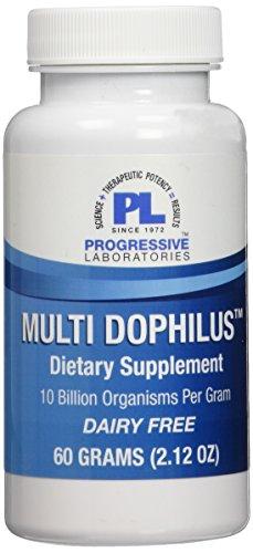 Progressive Labs Multi Dophilus Supplement, 2.12 Ounce