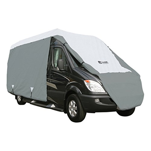 Classic Accessories OverDrive PolyPRO 3 Deluxe Class B RV Cover, Fits 20' - 23' RVs - Max Weather Protection with 3-Ply Poly Fabric Roof RV Cover (80-104-151001-00)