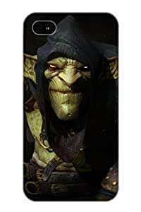 Anti-scratch And Shatterproof Styx Master Of Shadows Phone Case For Iphone 4/4s/ High Quality Tpu Case