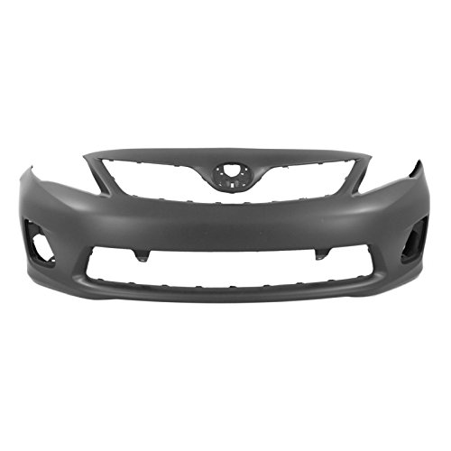MBI AUTO - Painted to Match, Front Bumper Cover Fascia for 2011 2012 2013 Toyota Corolla Sedan 11 12 13, TO1000372