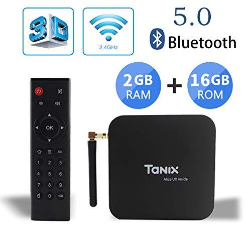 Tanix TX6 TV Box Android 9 0 tv Box 2GB/16GB 4K TV Allwinner H6 Quad core  ARM Cortex-A53 H 265 Decoding 2 4GHz/5GHz WiFi