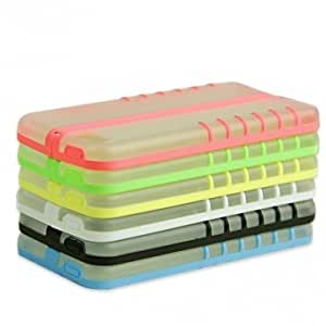 Light Night Folding Holder Hard Case Cover For iPhone 5 5S 5C --- Color:Pink