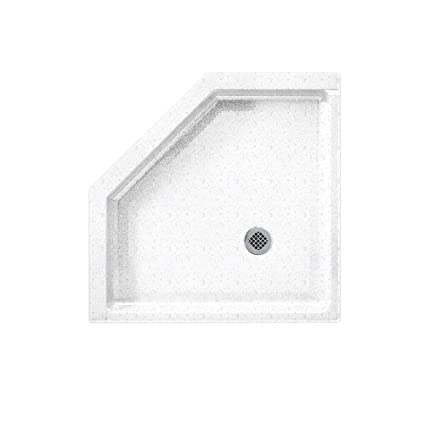 Neo Angle Shower Base.Swanstone Ss 36neo 035 Solid Surface Neo Angle Shower Base