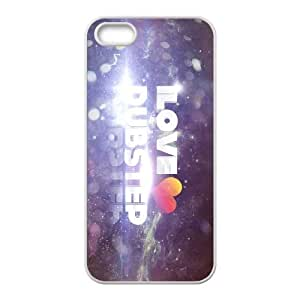 i love dubstep iPhone 4 4s Cell Phone Case White 91INA91426390