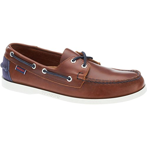 Nauticos Brown Cognac SPINNAKER Navy Unisex Sebago Leather 5zAqwtP6WW