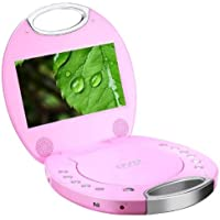 Sylvania SDVD7046-PINK 7-Inch Portable DVD Player (Certified Refurbished)