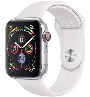 Apple Watch Series 4 - Reloj inteligente (GPS + cellular) con caja de 44 mm de aluminio en…