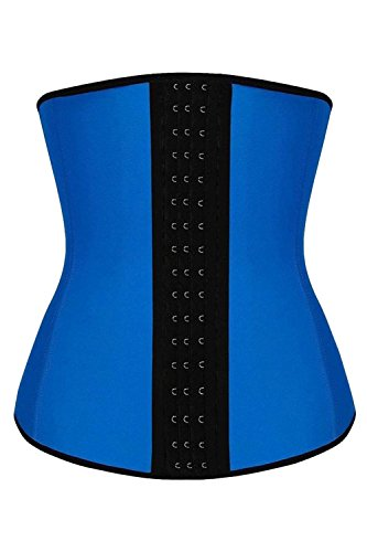 hrglass-training-waist-trainer-latex-corset-steel-bone-cincher-m-blue