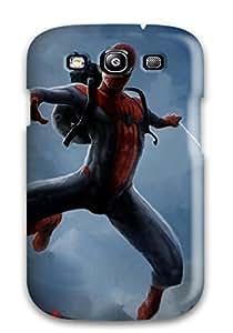 For Galaxy S3 Fashion Design Spider-man Case-TBrOSdG9307cERfC