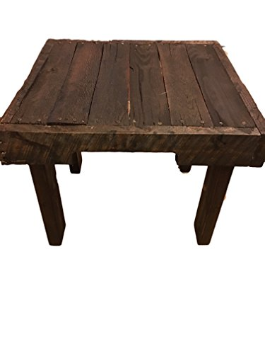pallet end table - 2