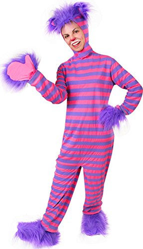 Adult's Alice in Wonderland Cheshire Cat Costume]()