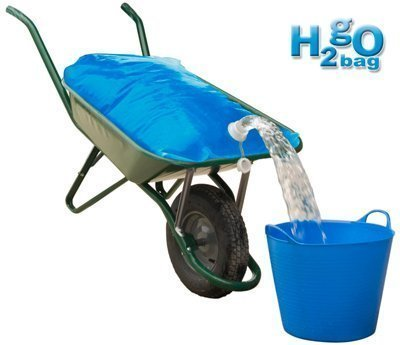 H2go Bag - 80 litre - A way of transporting up to 80 litres of water in a wheel barrow where there is no hosepipe available. William Hunter Equestrian