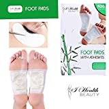 Foot Pads | All Natural Body Cleansing | 20 Pain & Stress Relieving