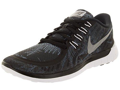 Nike Mænds Fri 5,0 Solhverv Blck / Rflct Slvr / Pr P Krystal Løbesko 8,5 Mænd Os