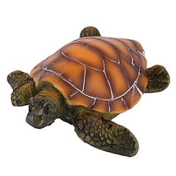 DealMux Resina tanque del acuario bajo el agua artificial tortuga paisaje decoración del ornamento: Amazon.es: Productos para mascotas