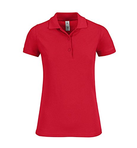 Polo Safran Timeless / Mujer Red