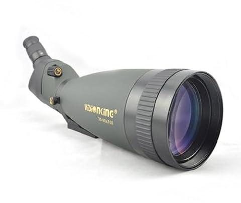 Visionking Spotting Scope 30-90x100 Spottingscope Waterproof Monoculars Telescope Mainly (Green) (90x Spotting Scope)