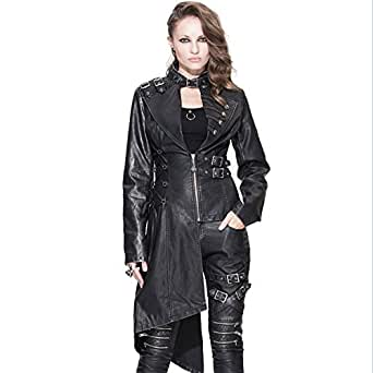 Amazon.com: Steampunk Gothic Punk Jacket Renaissance