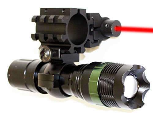 TRINITY 300 Lumens Flashlight With Red Laser kit For 12 Gauge Mossberg Youth 500